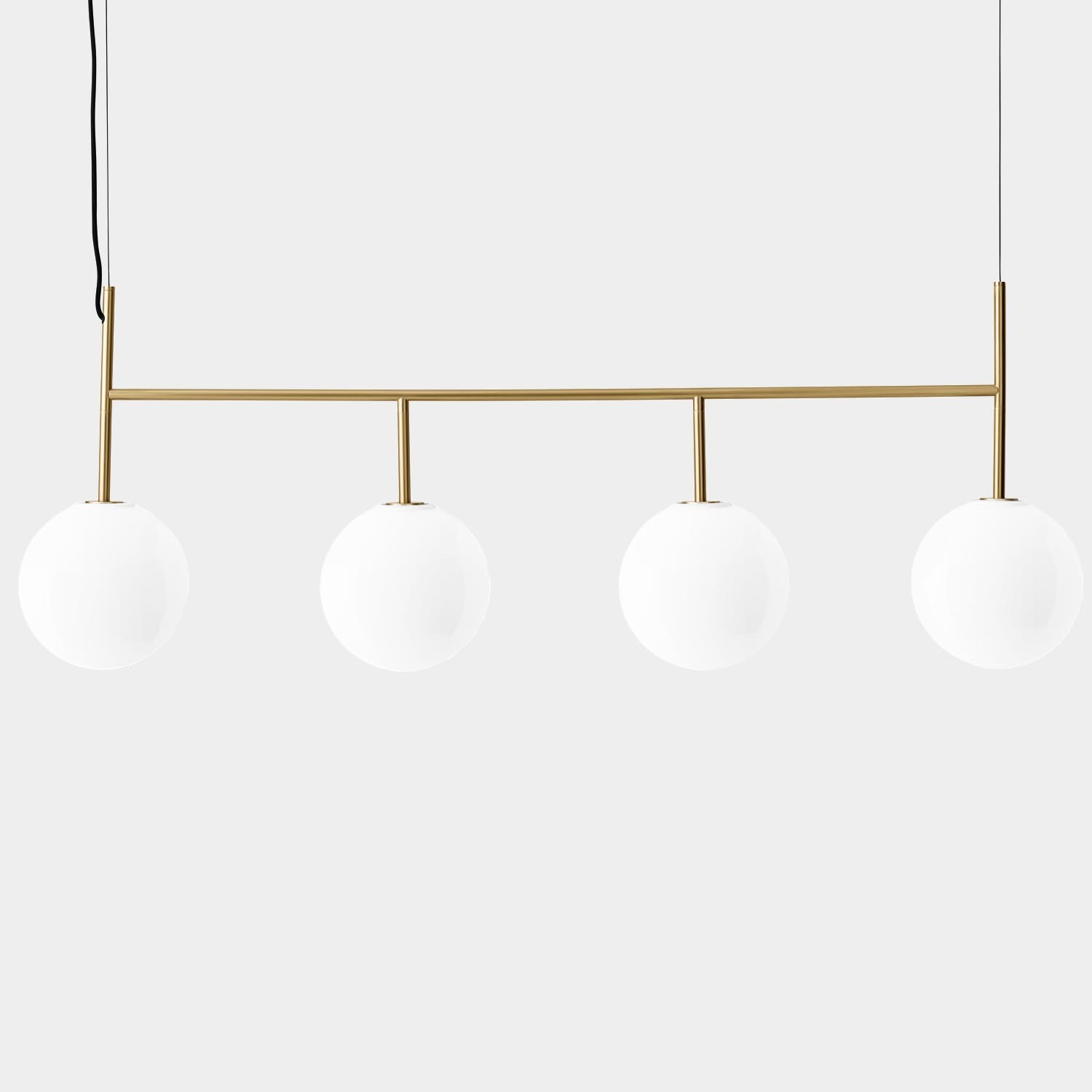 TR Linear Pendant, Brushed Brass