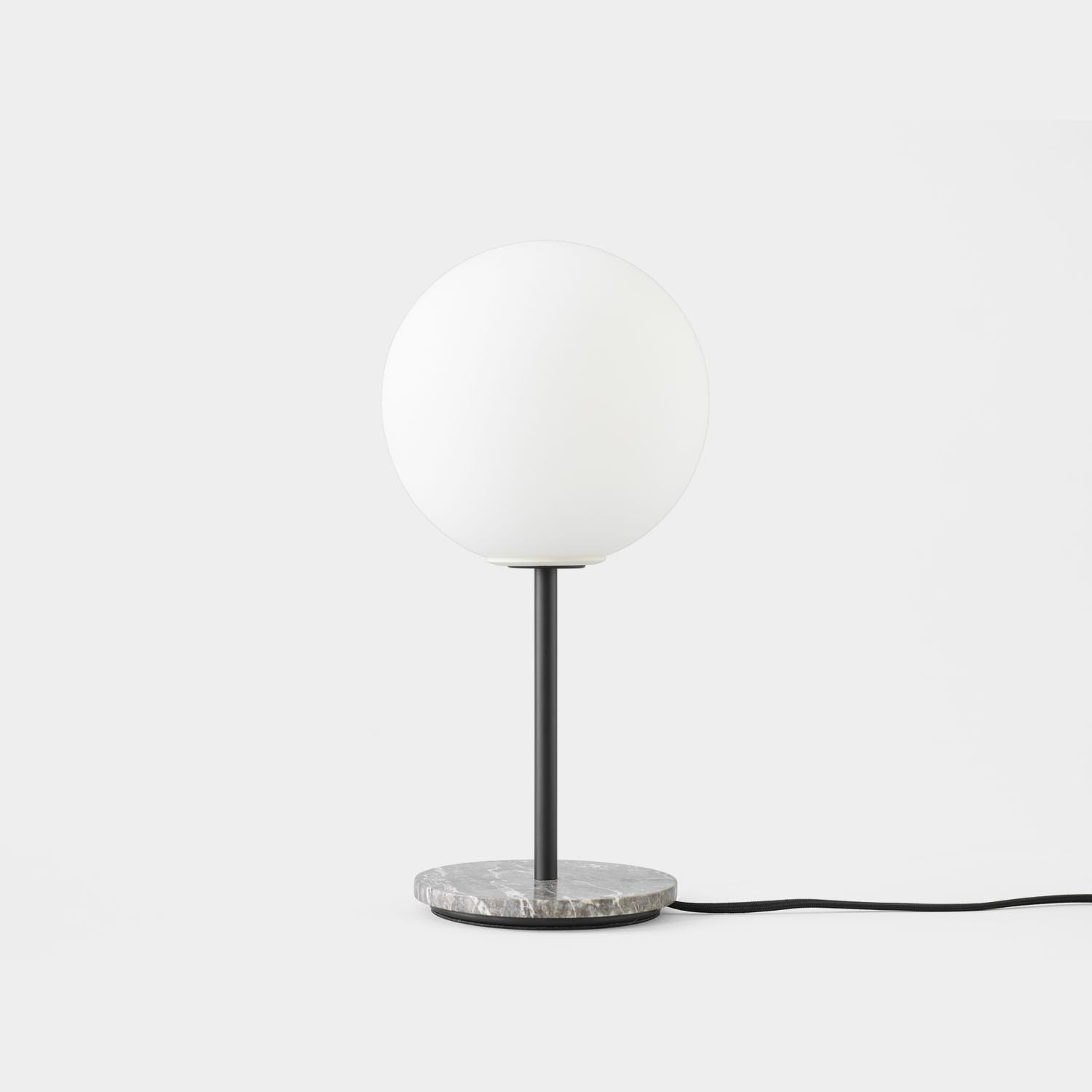 TR Table Lamp, Gray Marble