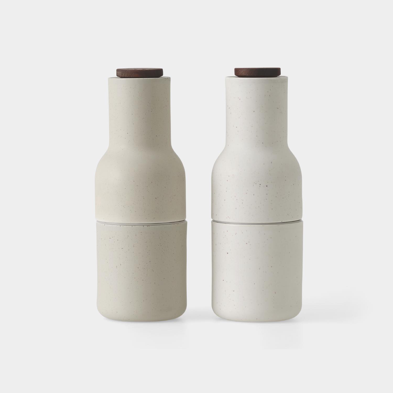 Bottle Grinders, Ceramic, Sand
