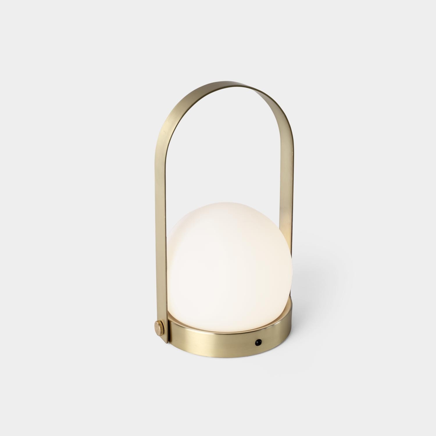 Portable Lamp Carrie, Brushed Brass