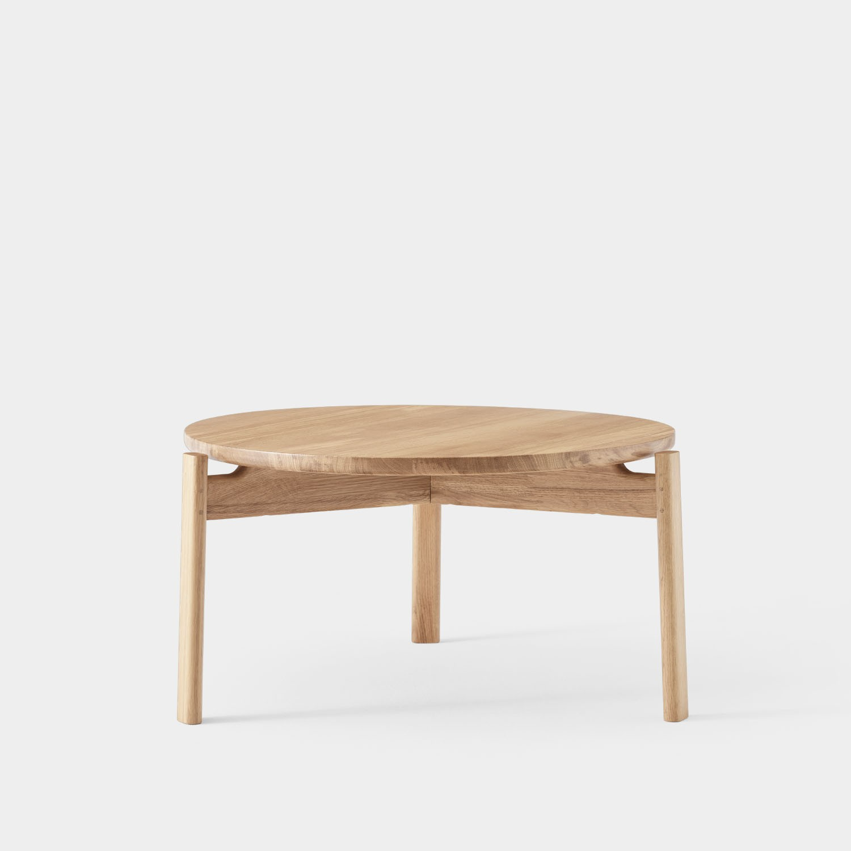 Passage Lounge Table, Natural Oak