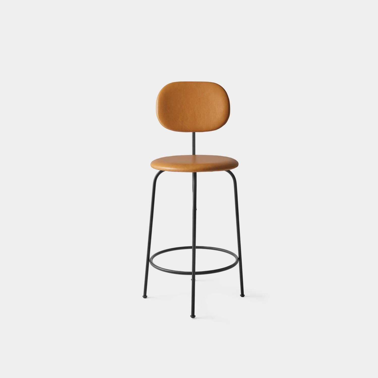 Counter Chair Plus, Cognac Leather