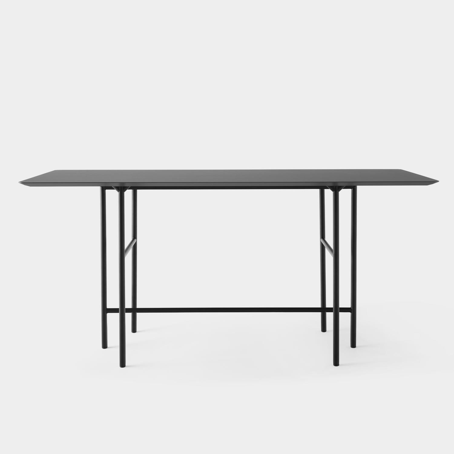 Snaregade Counter Table, Linoleum Top, Black Base