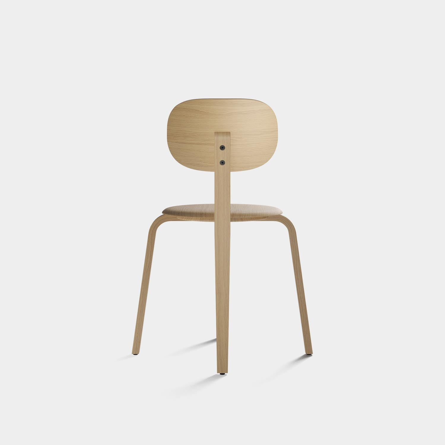 Afteroom Plywood Chair, Natural Oak