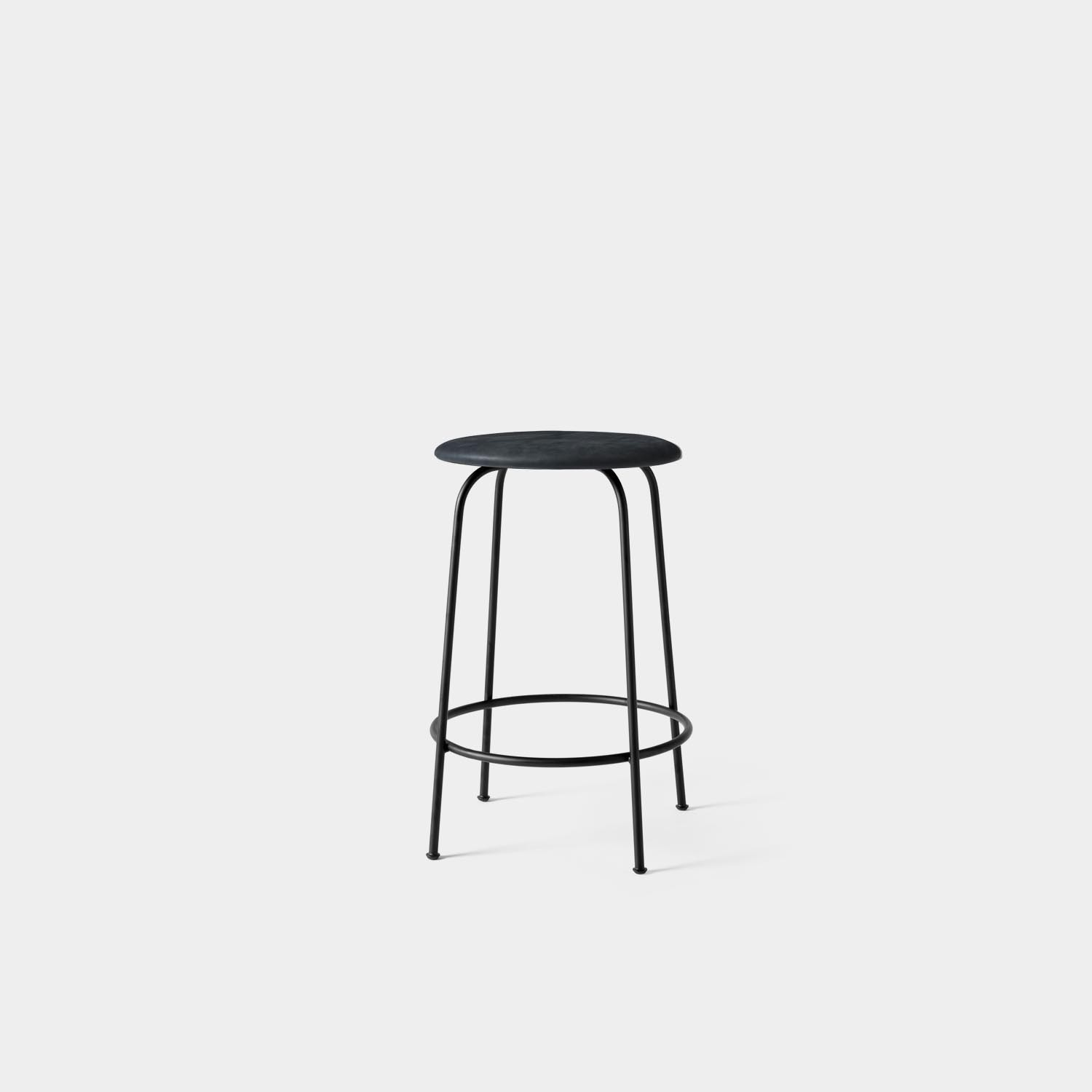 Counter Stool, Shade Leather