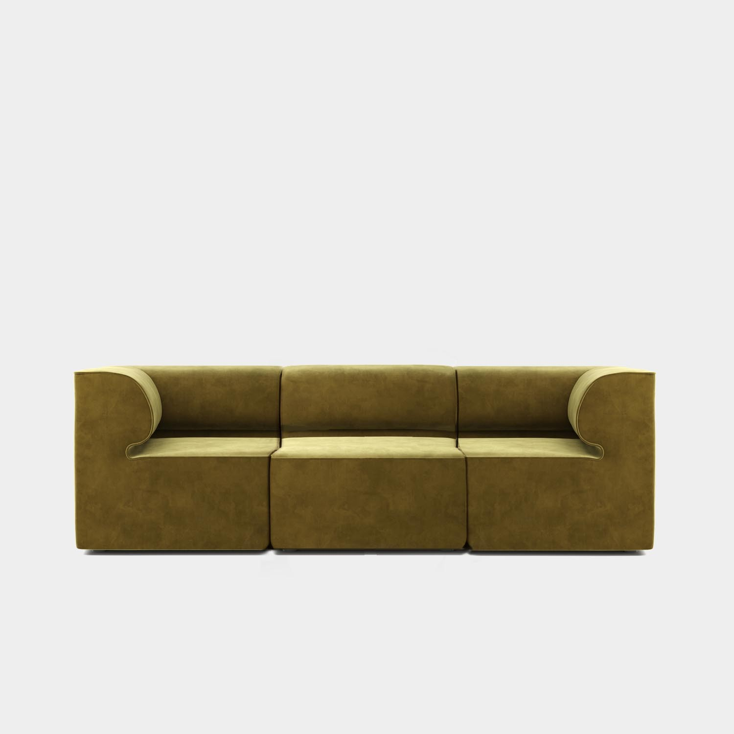 "Eave Modular Sofa 34"", Three Seater Sofa, Designer Collection"
