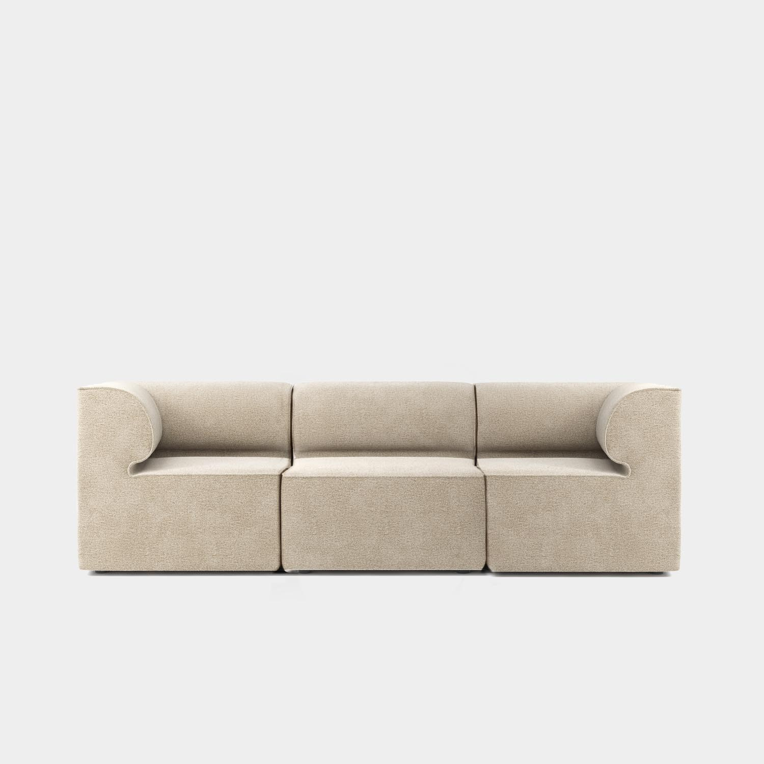 "Eave Modular Sofa 34"", Three Seater Sofa 34"", Category 2 Fabric, Made to Order"