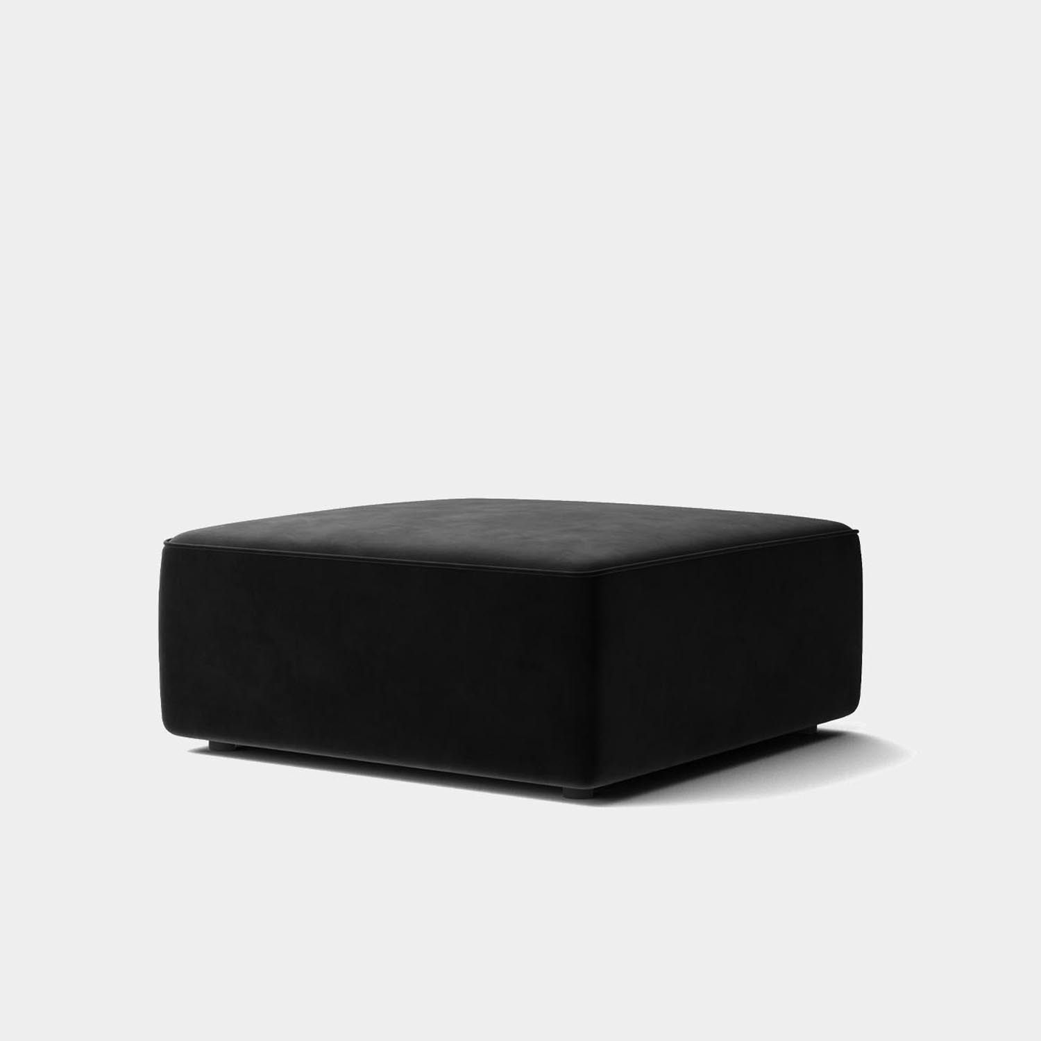 "Eave Modular Sofa 34"", Pouf, Designer Collection"