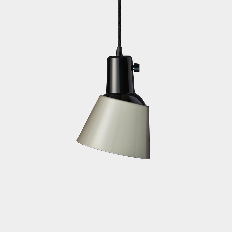 K 831 Pendant Light, Cement Gray Enamel