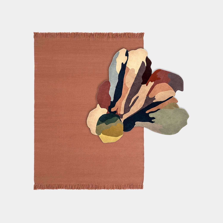 Composition Rug Colors Blush Medium + Bloom 1