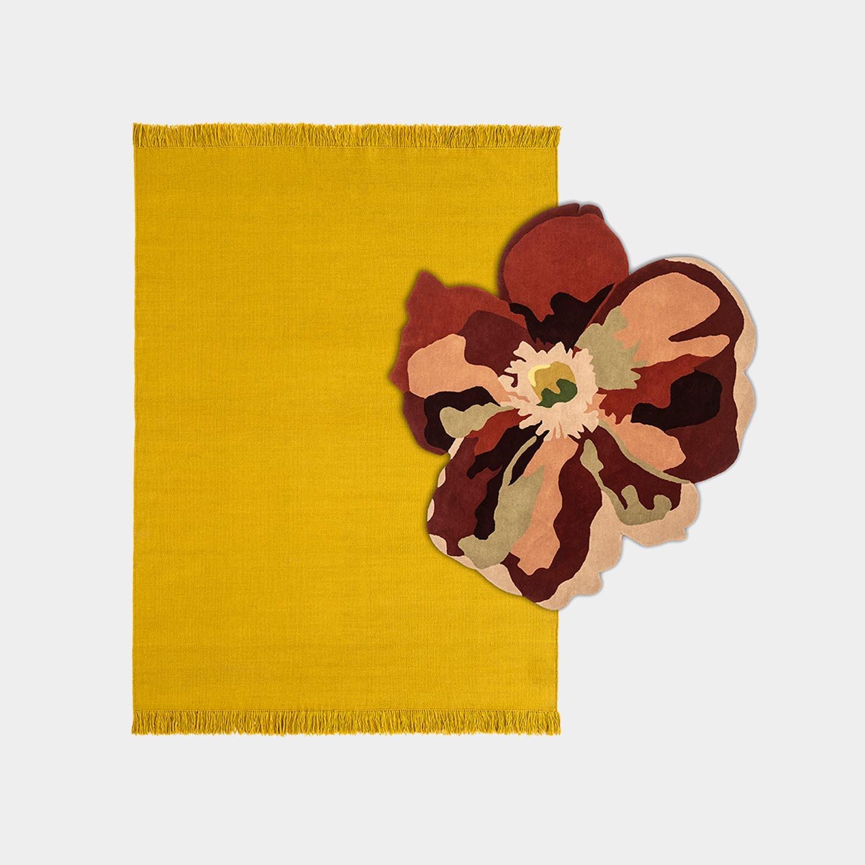 Composition Rug Colors Nectar Medium + Bloom 2