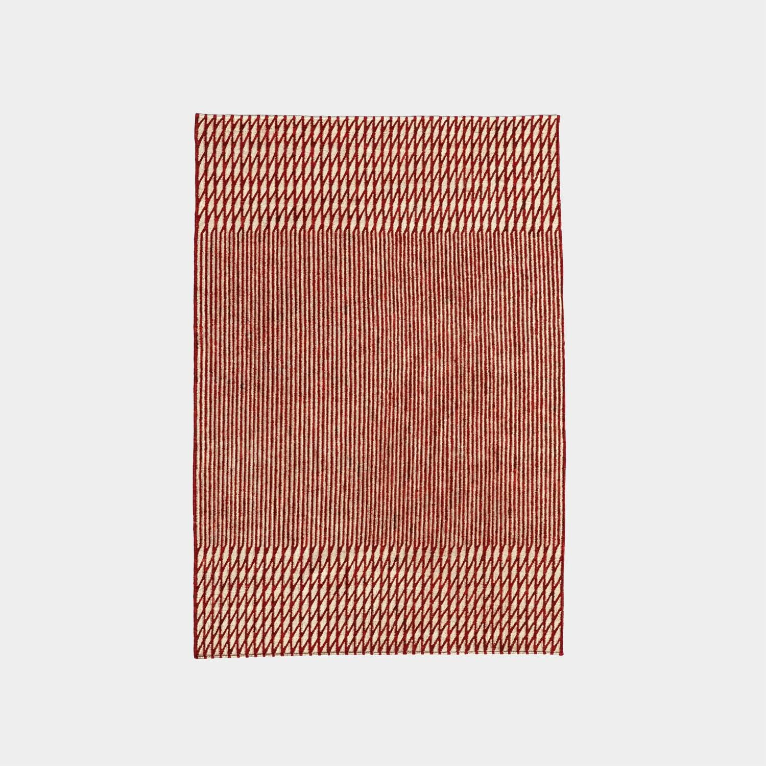 Blur Red Rug