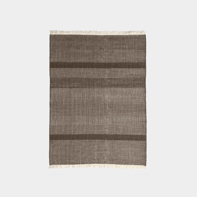 Tres Texture Rug, Chocolate, Medium