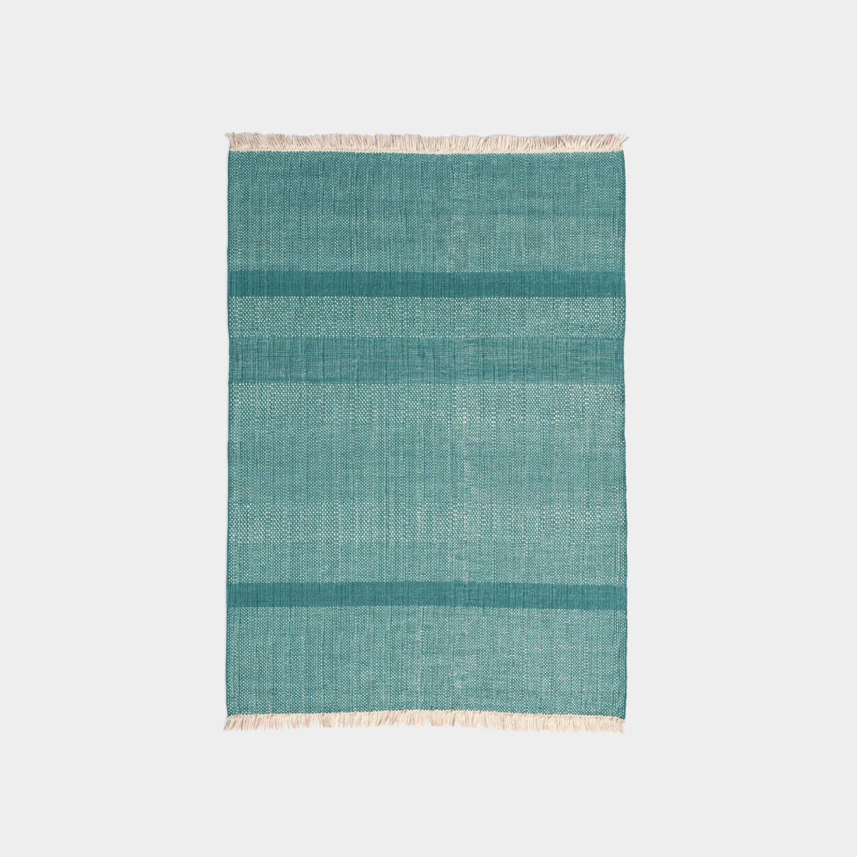 Tres Texture Rug, Green, Medium