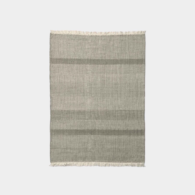 Tres Texture Rug, Pearl, Medium