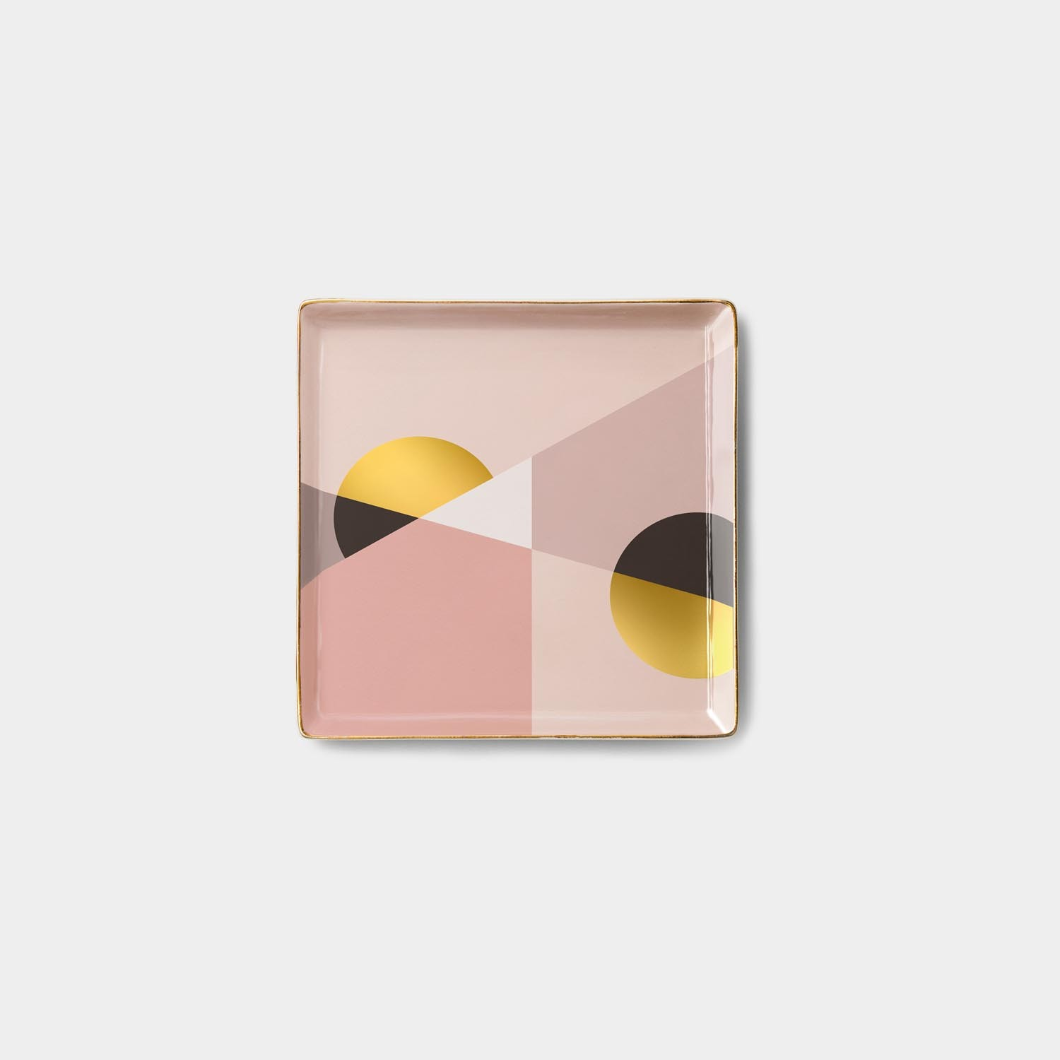 Catchall Ceramic Tray Siena Pink