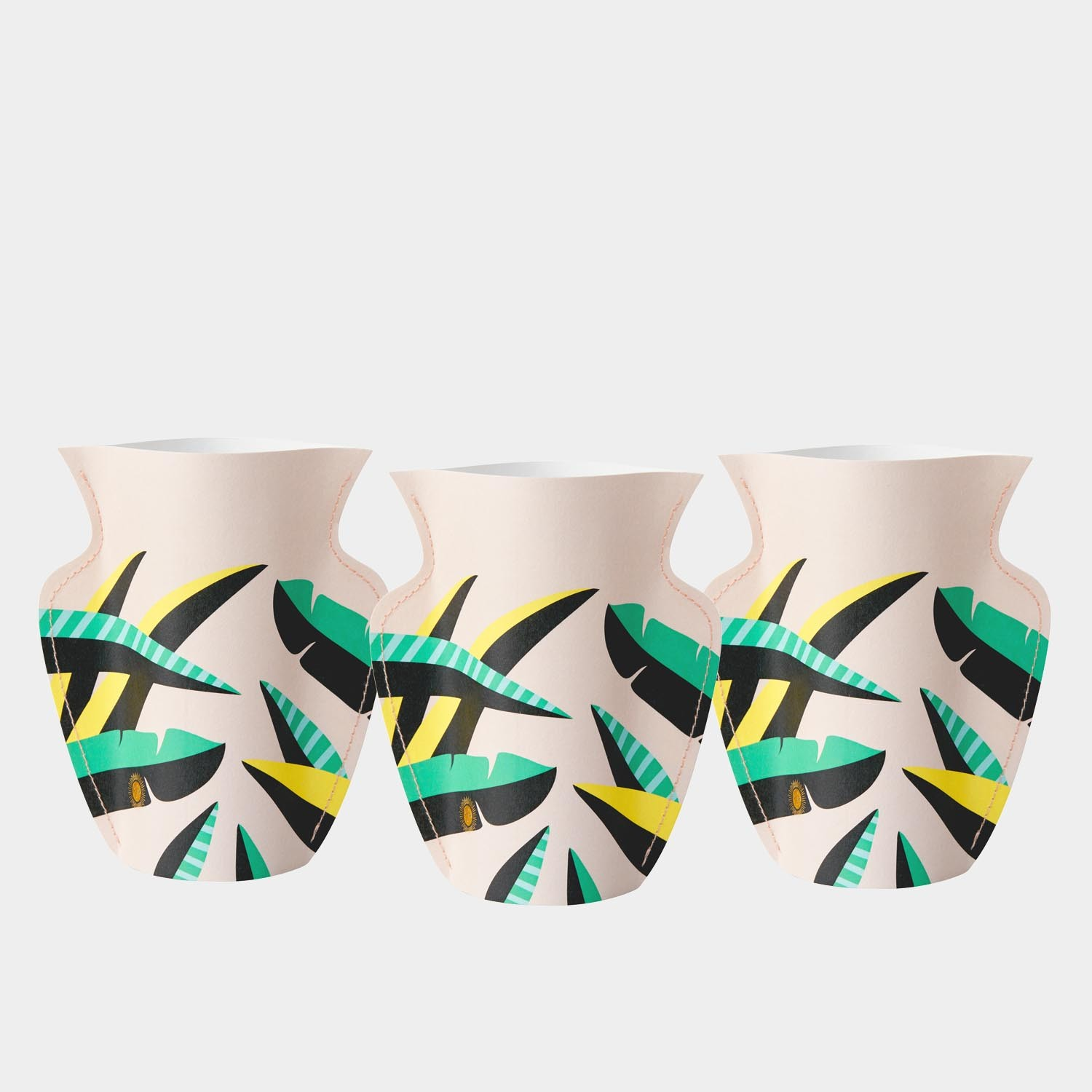 Paper Vase Le Club Small (Set of 3)