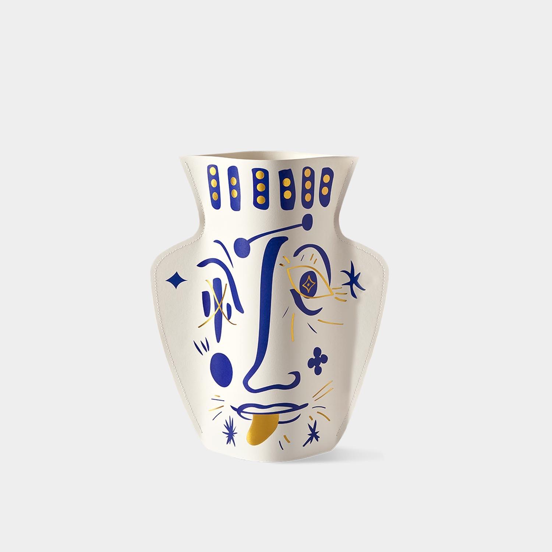 Paper Vase 'Jaime Hayon' White