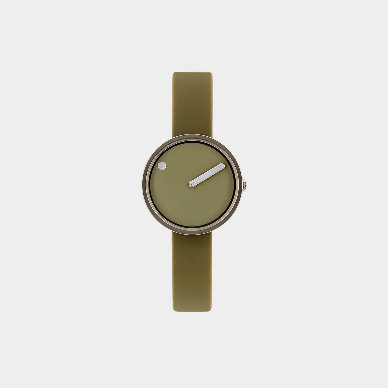 PICTO® Watch 30mm Khaki / Polished Grey