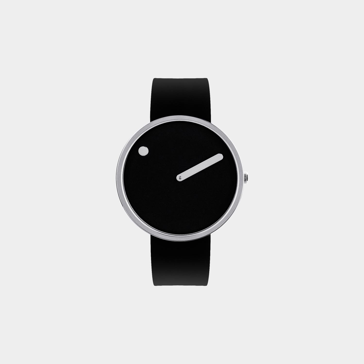 PICTO® Watch 40mm Black / Polished Steel