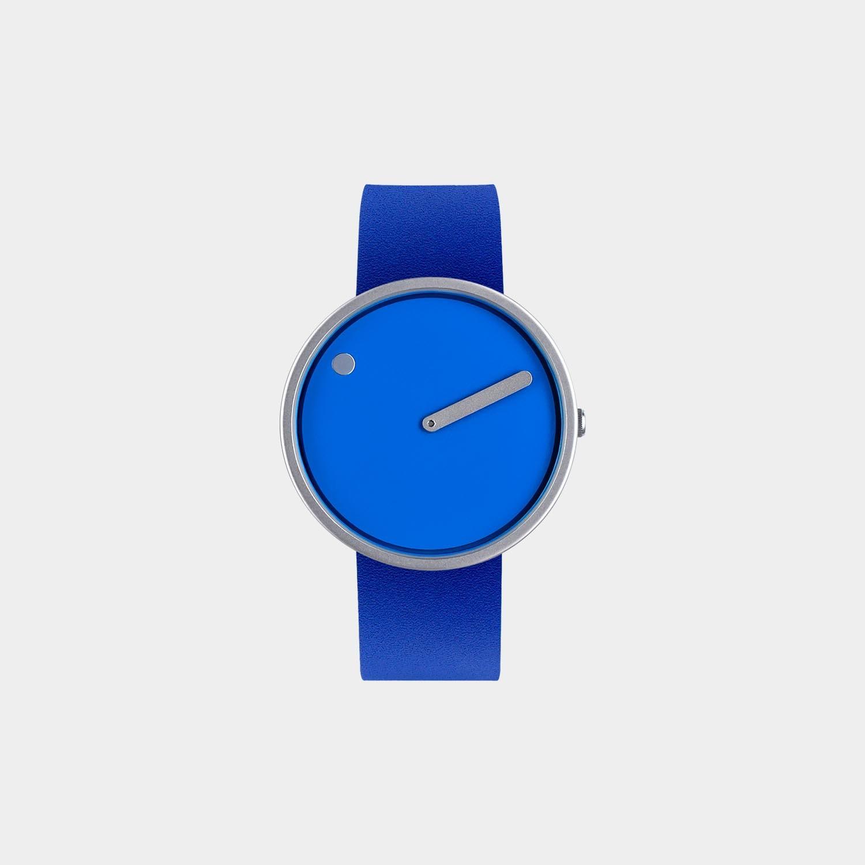 PICTO® Watch 40mm Cobalt Blue / Matt Steel