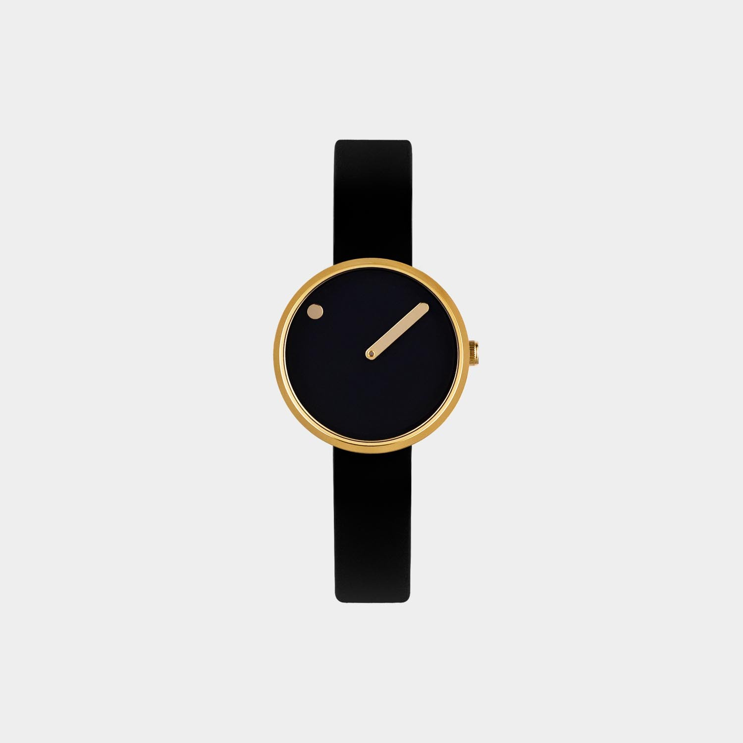 PICTO® Watch 30mm Black / Polished Rose Gold