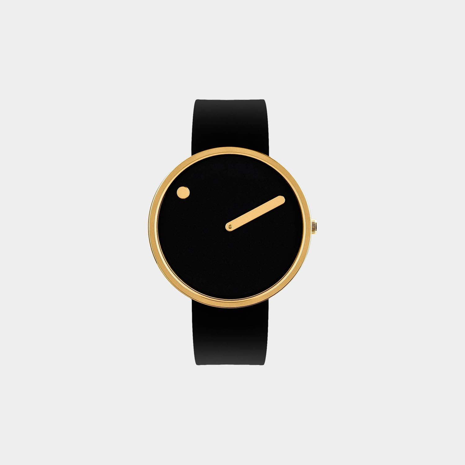PICTO® Watch 40mm Black / Polished Rose Gold