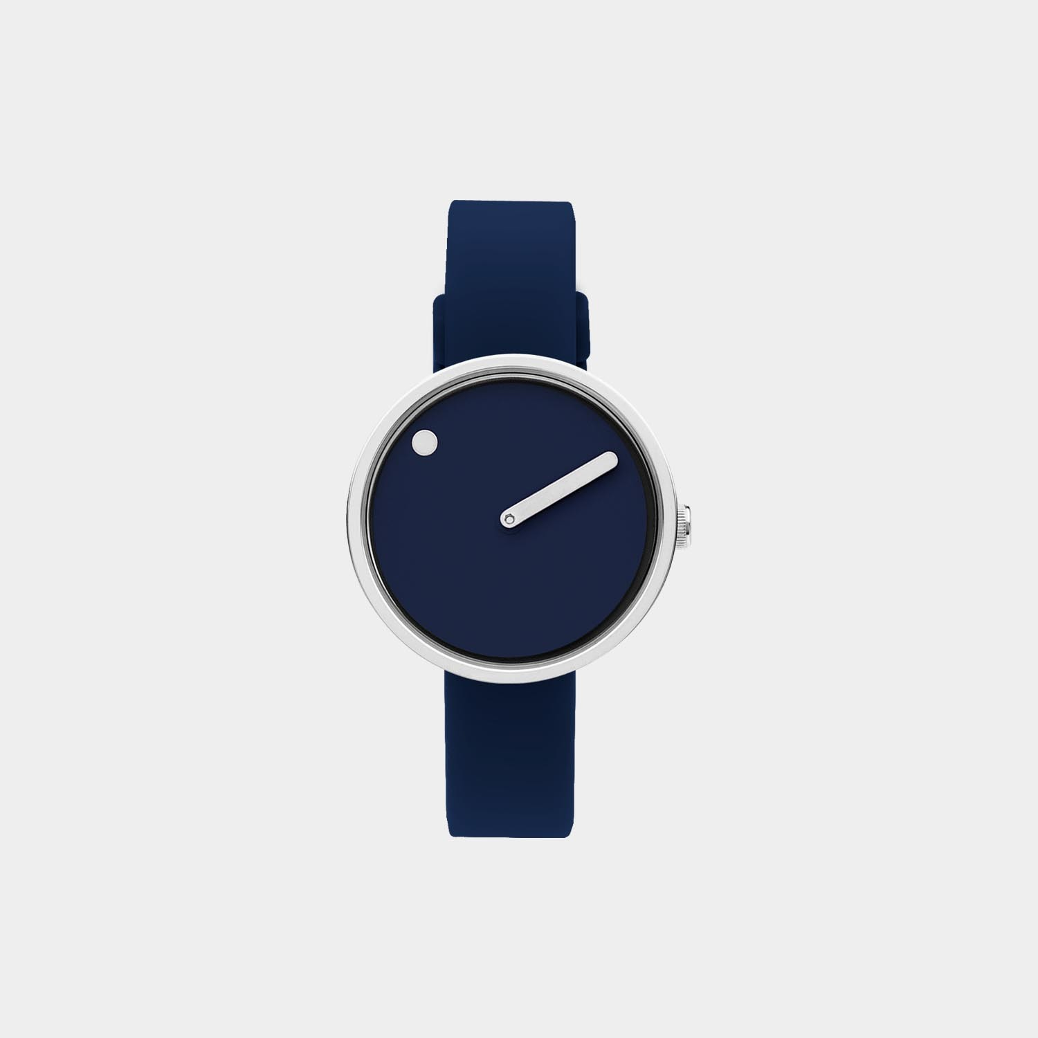 PICTO® Watch 30mm Navy Blue / Polished Steel