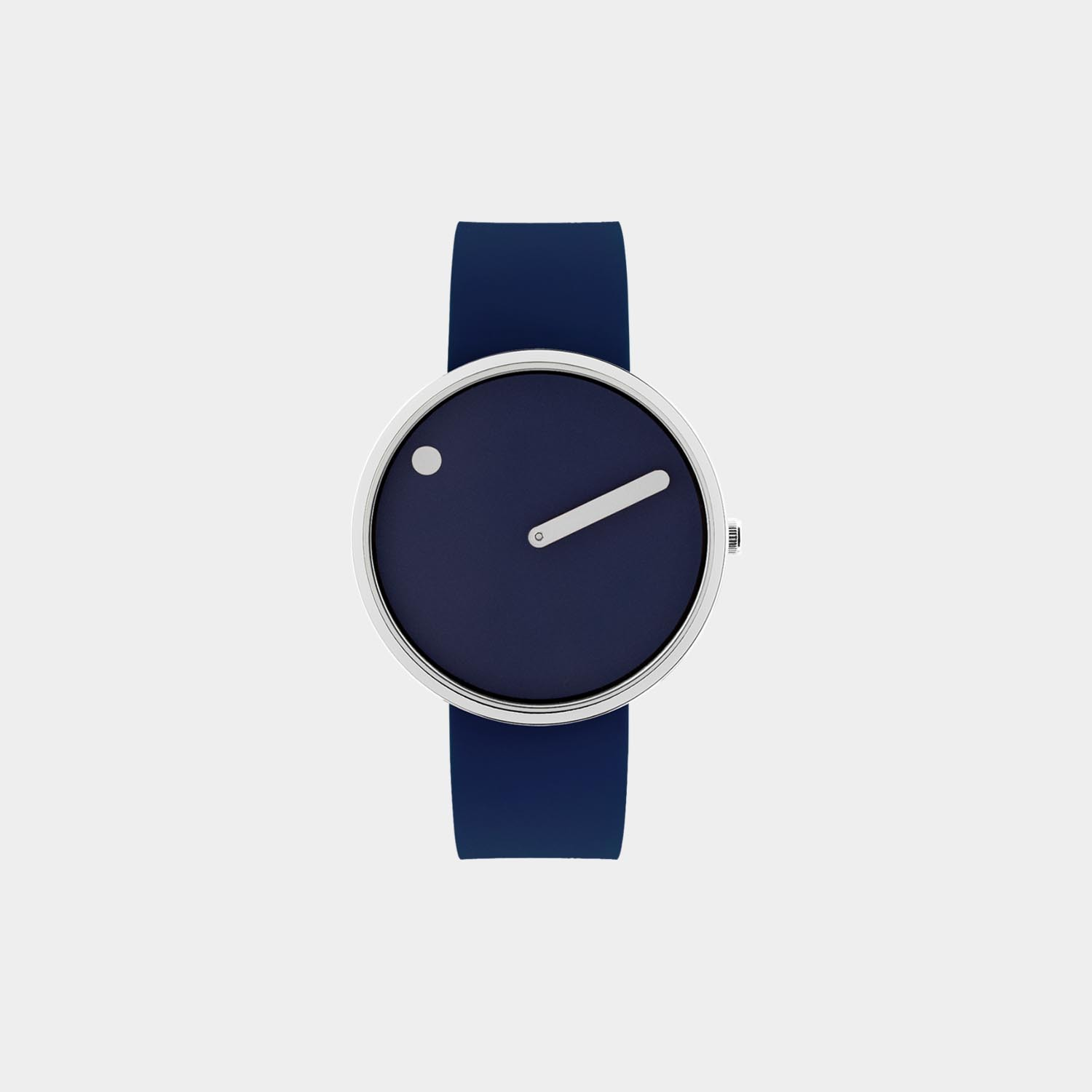 PICTO® Watch 40mm Navy Blue / Polished Steel