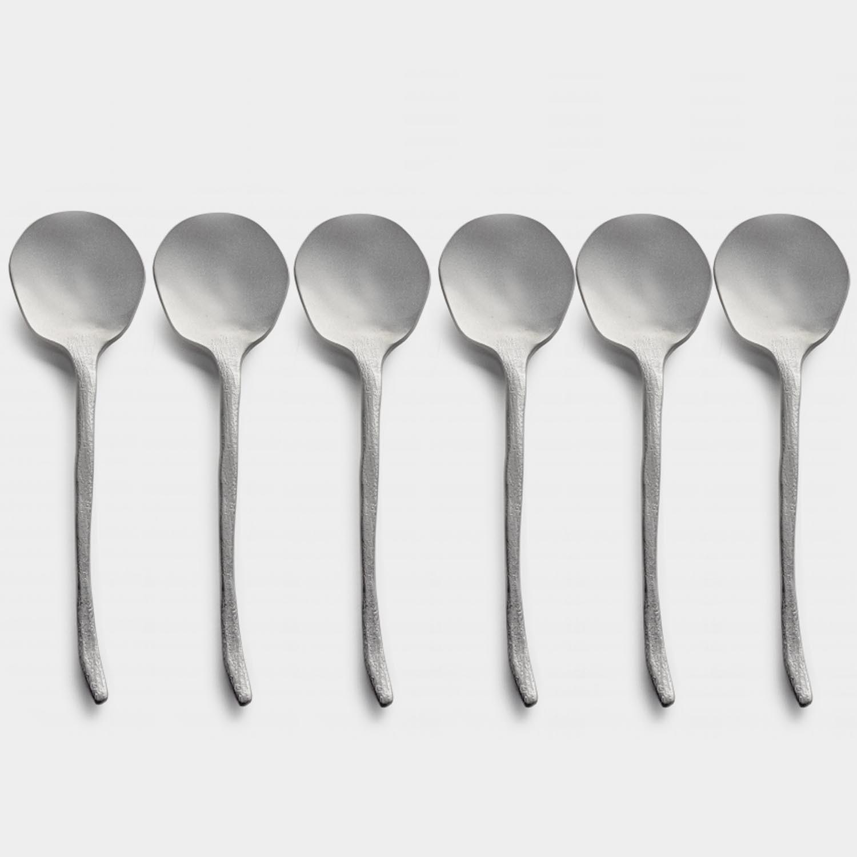 Dessert Spoon Flora Vulgaris