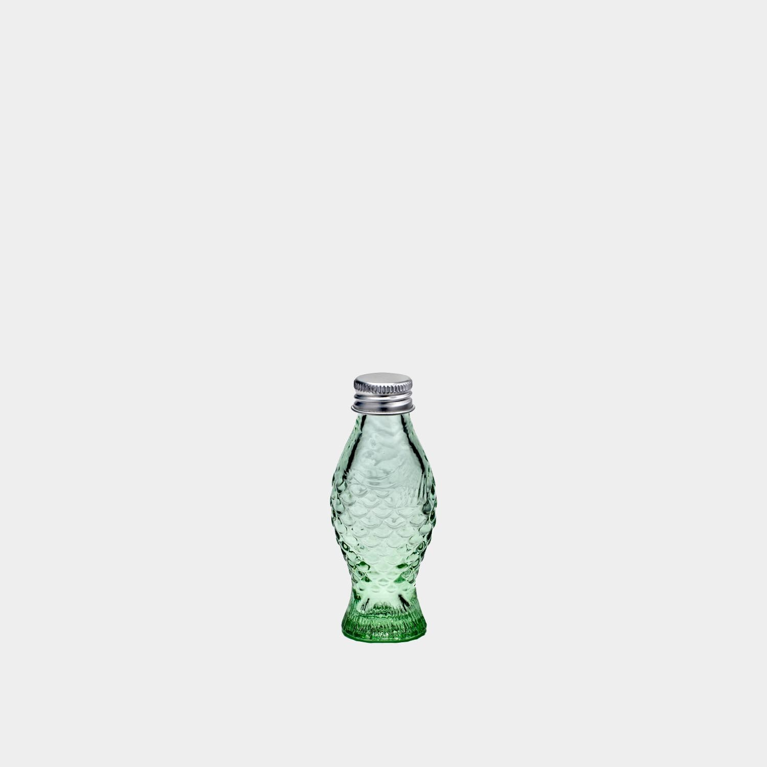 Small Bottle with Lid, Fish & Fish