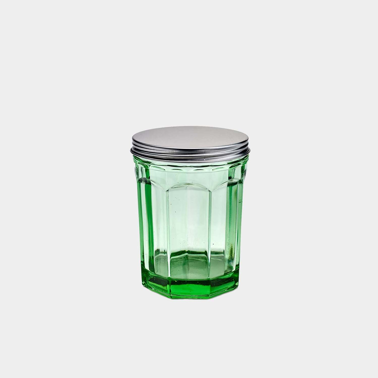 Medium Jar Fish & Fish Green