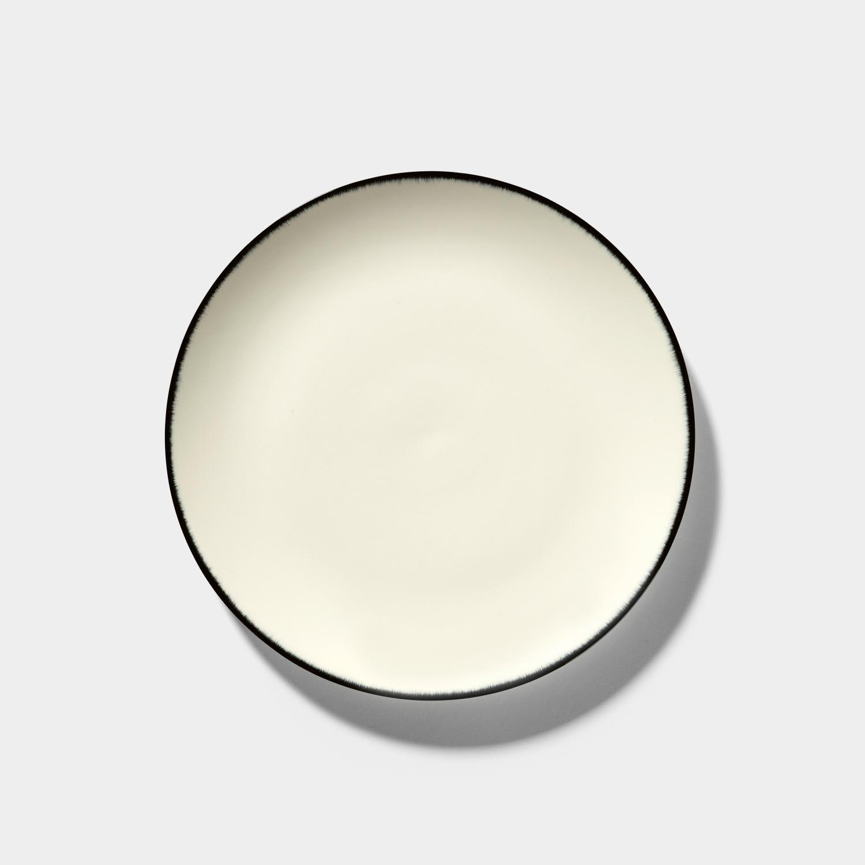 Dé Plate, Off-White/Black Var 1