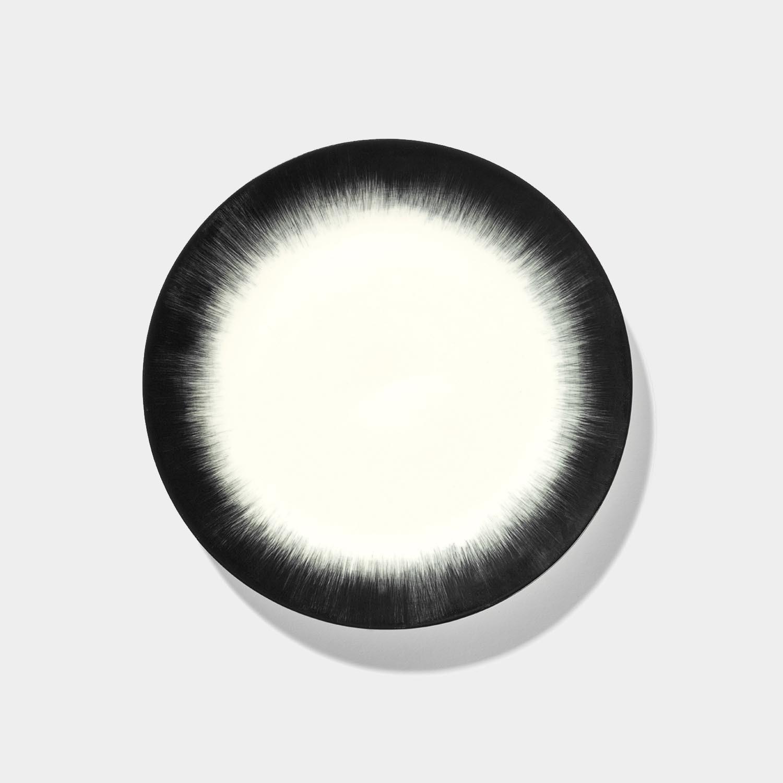 Dé Plate, Off-White/Black Var 4