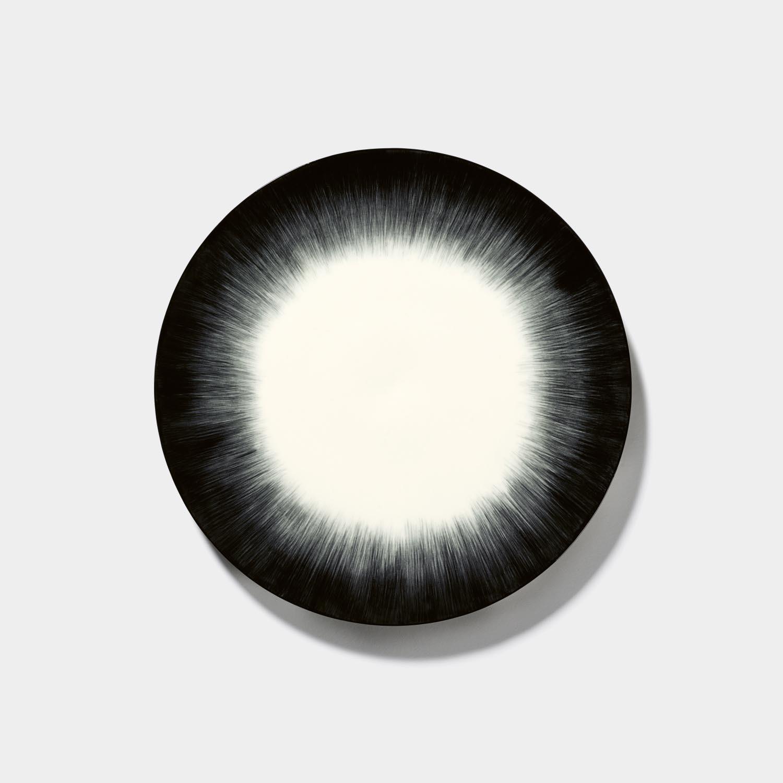 Dé Plate, Off-White/Black Var 5