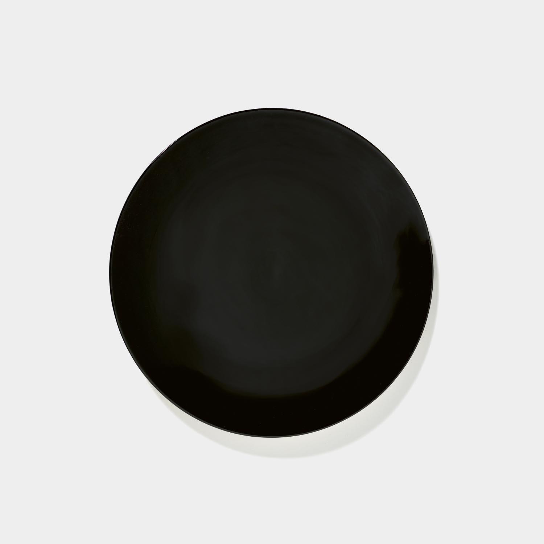 Dé Plate, Black