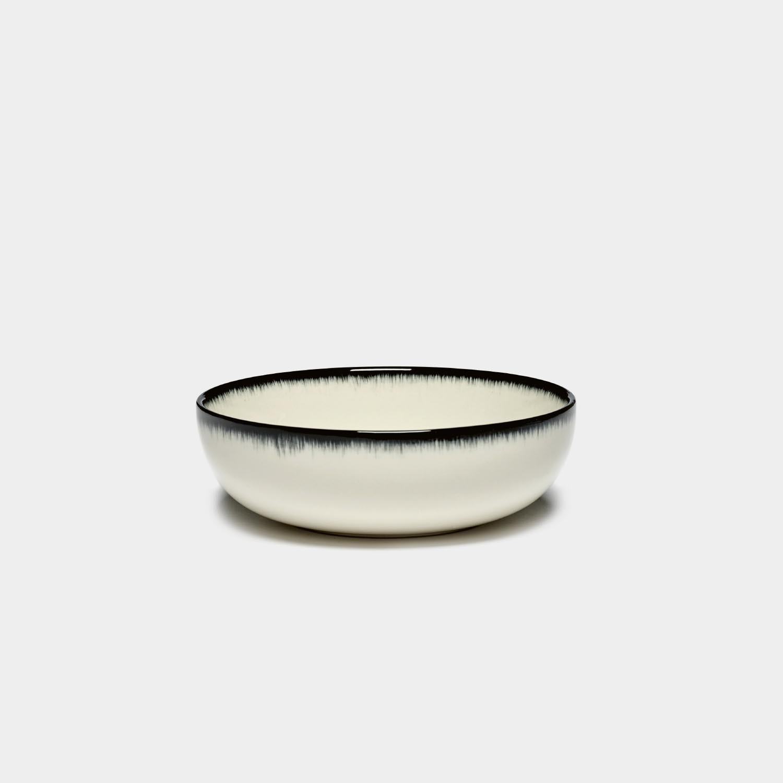 Dé High Plate, Off-White/Black Var A