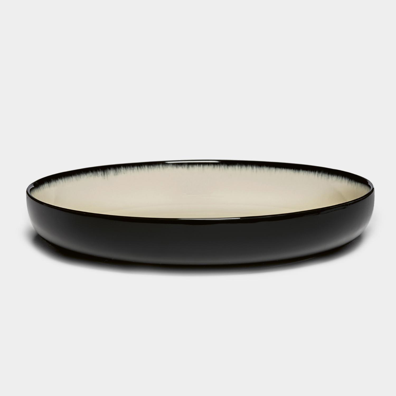 Dé High Plate, Off-White/Black Var D