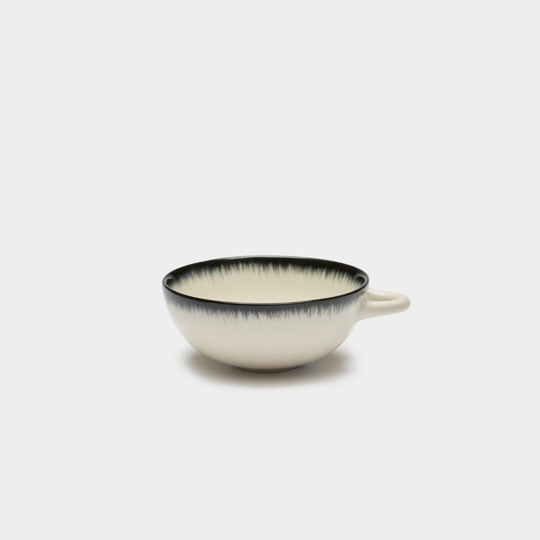Dé Espresso Cup, Off-white/Black Var A