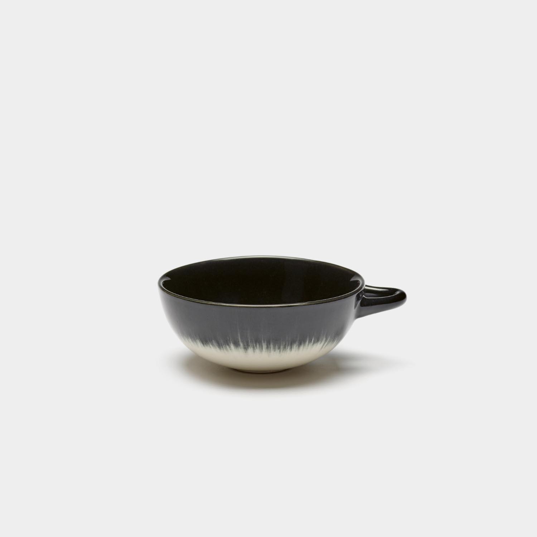 Dé Espresso Cup, Off-white/Black Var B
