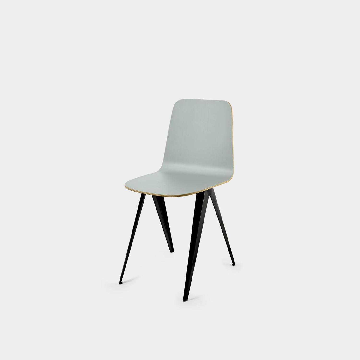 Sanba Chair, Black/Blue