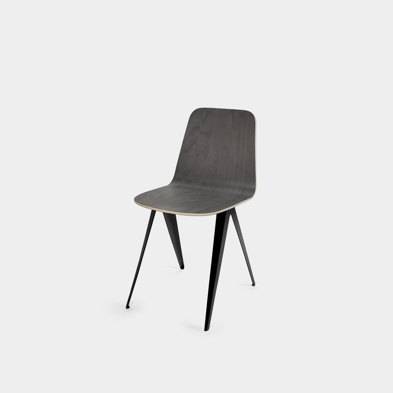 Sanba Chair, Black/Gray