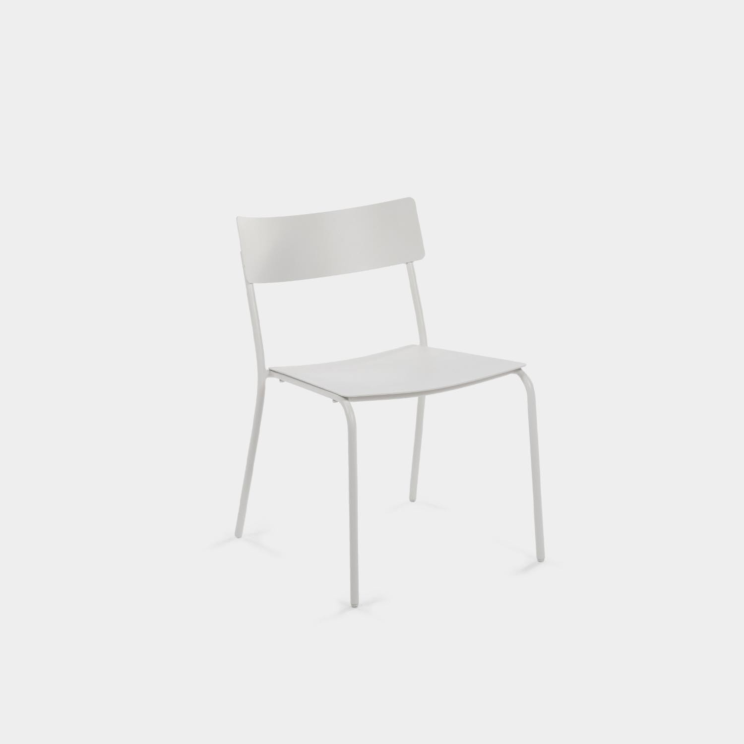 August Dining Chair, White