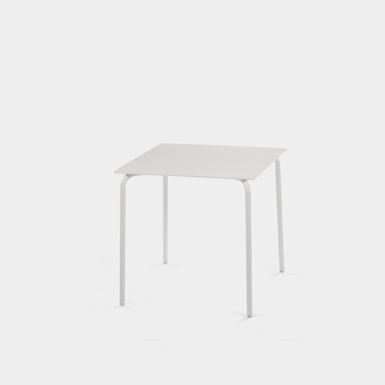 August Dining Table, White