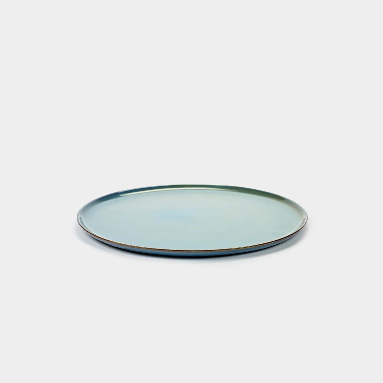 """Flat Dinner Plate 10.2"""" Terres de Rêves"""