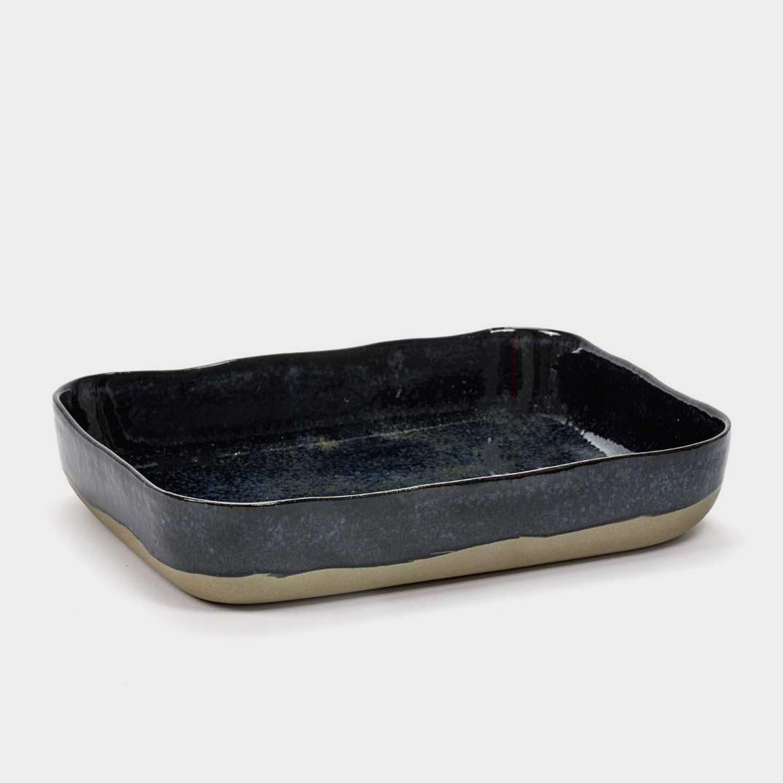 Oven Dish, Dark Blue
