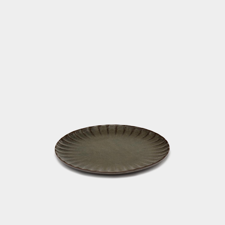 Dinner Plate Inku, Green, Small