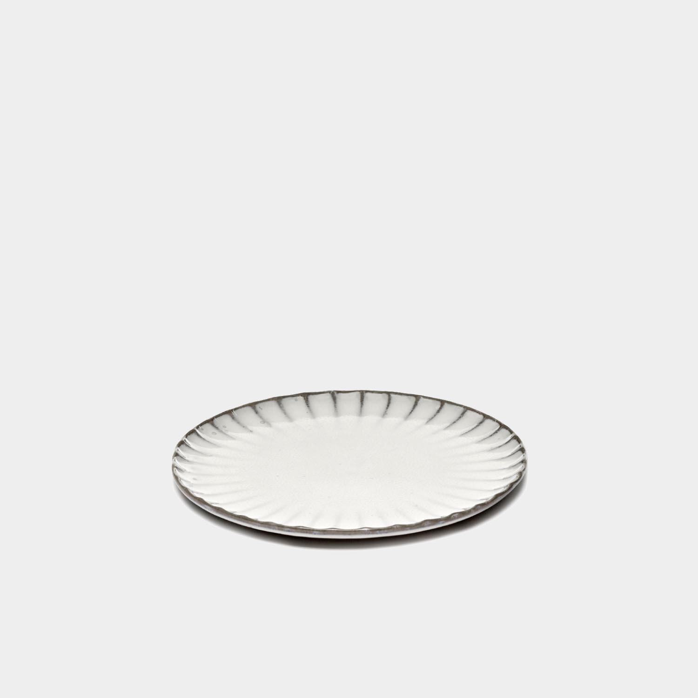 Dinner Plate Inku, White, Small