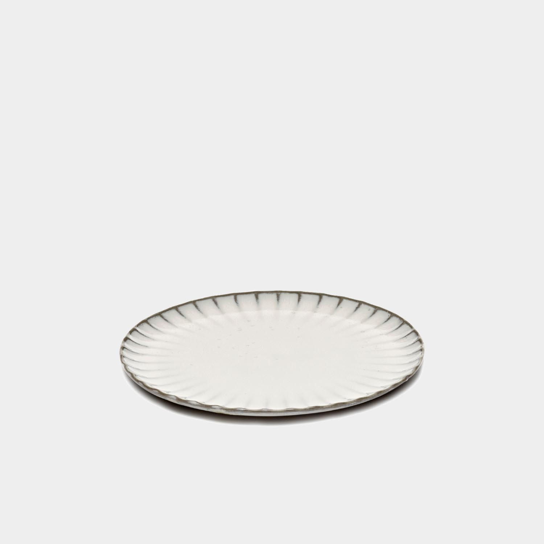 Dinner Plate Inku, White, Medium