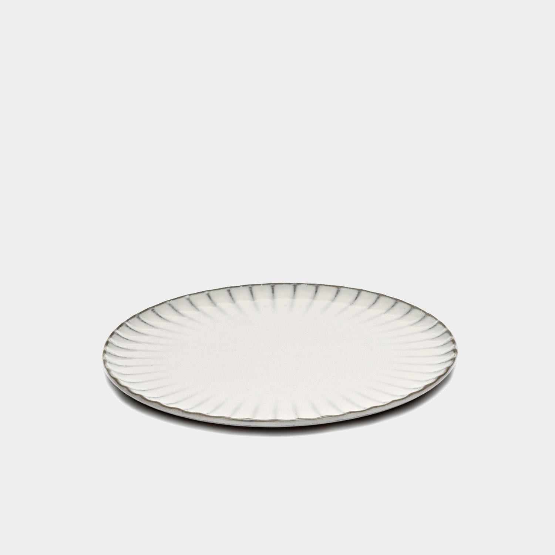Dinner Plate Inku, White, Large